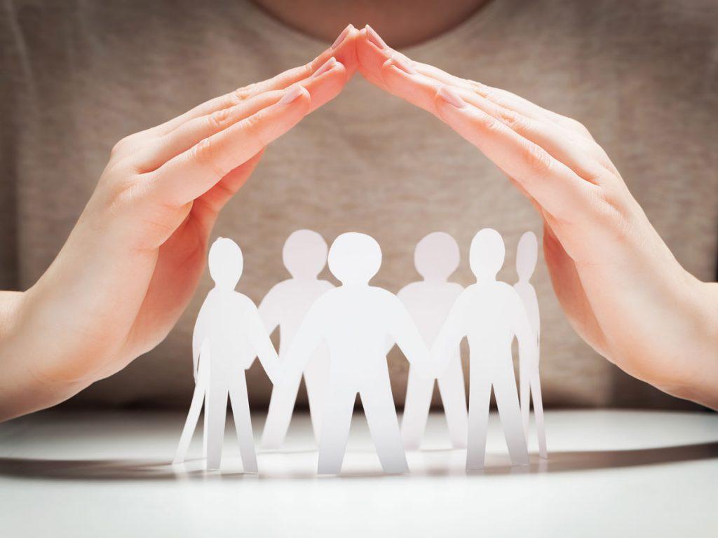 Der Dachverband hält seine schützenden Hände über alle Selbsthilfegruppen in Tirol