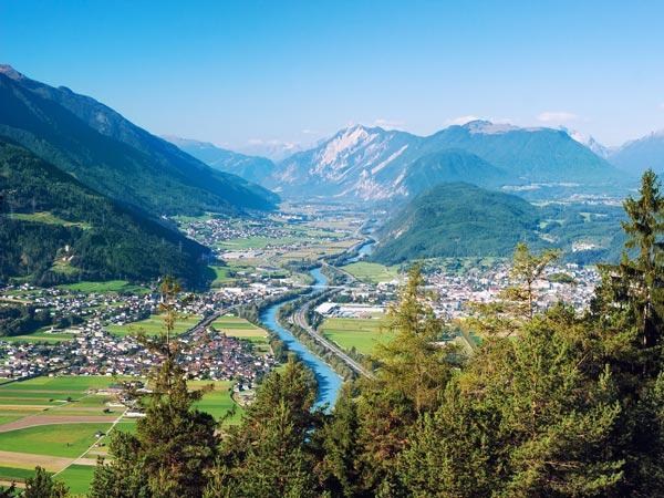 Blick ins Tiroler Oberland