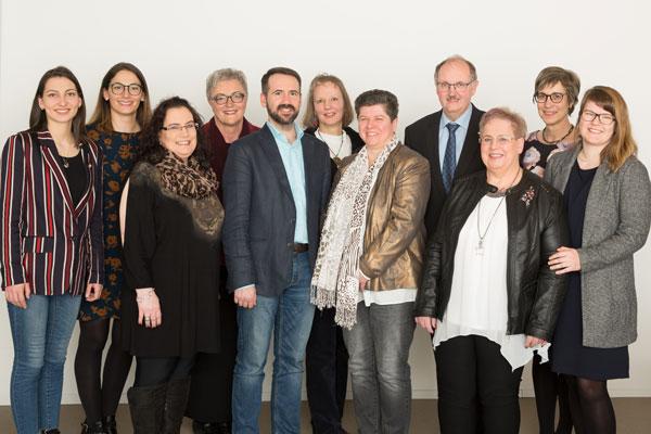 Ein starkes Team - die Mitarbeiter der Selbsthilfe Tirol