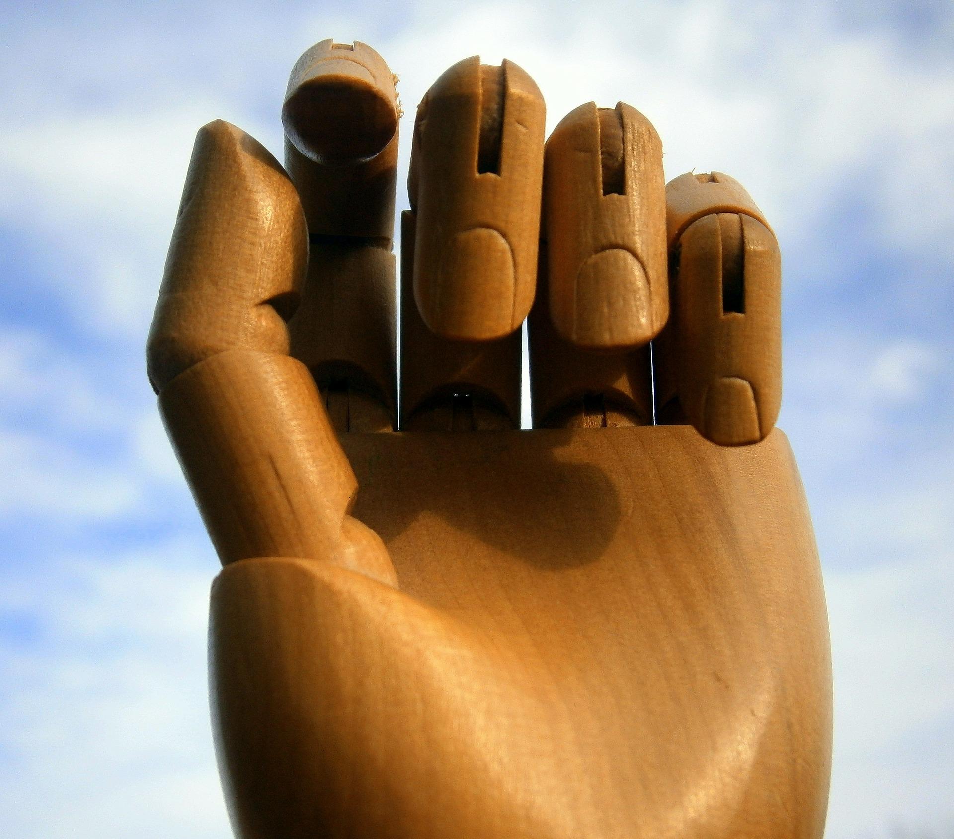 Symbolbild Rheuma Hand
